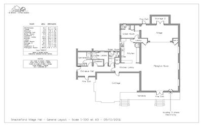 Floor plan 400 x 250